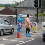 Fancy Dress Collection with St Austell Football Club
