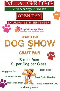 Dog Show and Craft Fair Poster 2013