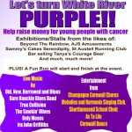 Let's Turn White River Place Purple!!