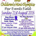 Dog Show and Children's Mini Olympics