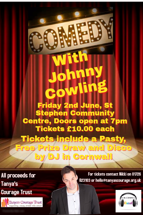 Johnny Cowling Poster Final