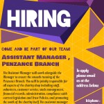 Job Vacancy – Penzance